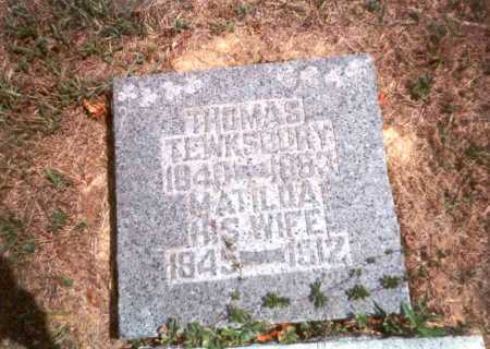 TEWKSBURY, THOMAS - Athens County, Ohio | THOMAS TEWKSBURY - Ohio Gravestone Photos