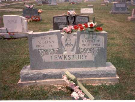 TEWKSBURY, V. GLENN - Athens County, Ohio | V. GLENN TEWKSBURY - Ohio Gravestone Photos