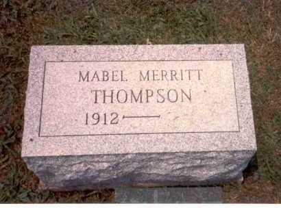 MERRITT THOMPSON, MABEL - Athens County, Ohio | MABEL MERRITT THOMPSON - Ohio Gravestone Photos