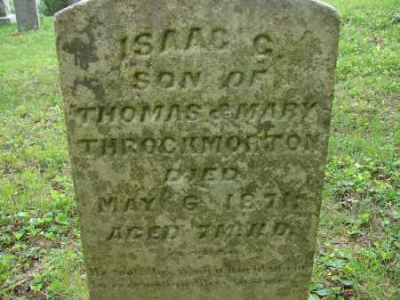 THROCKMORTON, ISAAC C. - Athens County, Ohio | ISAAC C. THROCKMORTON - Ohio Gravestone Photos