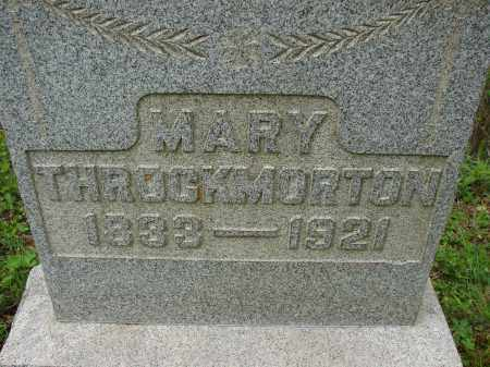 THROCKMORTON, MARY - Athens County, Ohio | MARY THROCKMORTON - Ohio Gravestone Photos