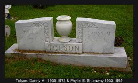 TOLSON, DANNY - Athens County, Ohio | DANNY TOLSON - Ohio Gravestone Photos