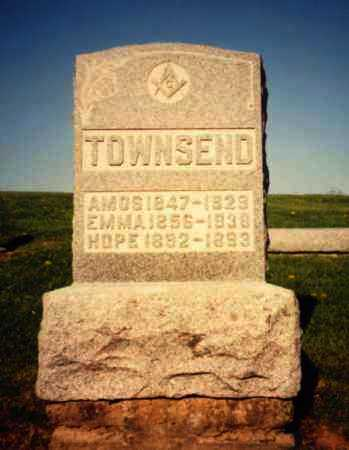 TOWNSEND, HOPE - Athens County, Ohio | HOPE TOWNSEND - Ohio Gravestone Photos