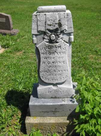 UINE, HULDAM J - Athens County, Ohio | HULDAM J UINE - Ohio Gravestone Photos