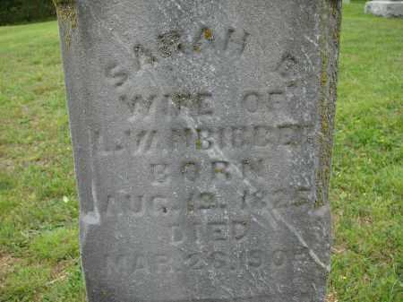 VAN BIBBER, SARAH E. - Athens County, Ohio | SARAH E. VAN BIBBER - Ohio Gravestone Photos
