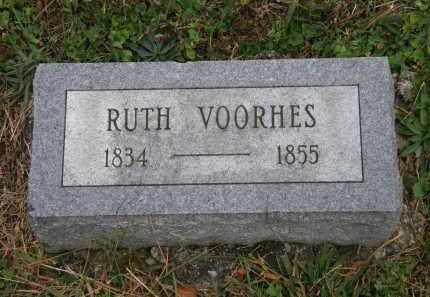 VOORHES, RUTH - Athens County, Ohio | RUTH VOORHES - Ohio Gravestone Photos