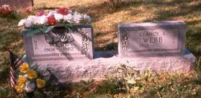 WEBB, DONALD F. - Athens County, Ohio | DONALD F. WEBB - Ohio Gravestone Photos
