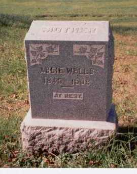 WOODYARD WELLS, ABBIE - Athens County, Ohio | ABBIE WOODYARD WELLS - Ohio Gravestone Photos