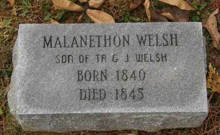 WELSH, MALANETHON - Athens County, Ohio | MALANETHON WELSH - Ohio Gravestone Photos