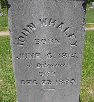 WHALEY, JOHN - Athens County, Ohio | JOHN WHALEY - Ohio Gravestone Photos