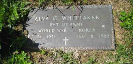 WHITTAKER, ALVA C. - Athens County, Ohio | ALVA C. WHITTAKER - Ohio Gravestone Photos
