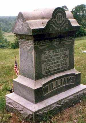 WILLIAMS, WALDRON - Athens County, Ohio | WALDRON WILLIAMS - Ohio Gravestone Photos