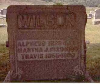 WILSON, MARTHA JANE - Athens County, Ohio | MARTHA JANE WILSON - Ohio Gravestone Photos