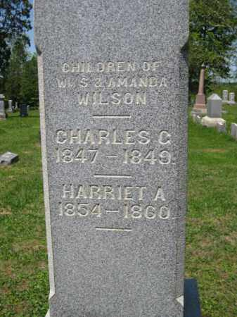 WILSON, HARRIET A. - Athens County, Ohio | HARRIET A. WILSON - Ohio Gravestone Photos
