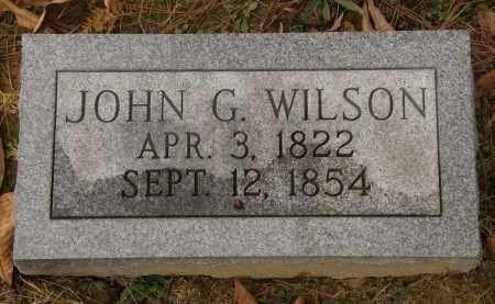 WILSON, JOHN G. - Athens County, Ohio | JOHN G. WILSON - Ohio Gravestone Photos