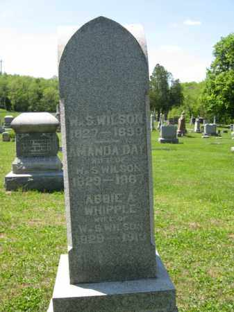 DAY WILSON, AMANDA - Athens County, Ohio | AMANDA DAY WILSON - Ohio Gravestone Photos