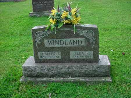 WINDLAND, CHARLES P. - Athens County, Ohio | CHARLES P. WINDLAND - Ohio Gravestone Photos