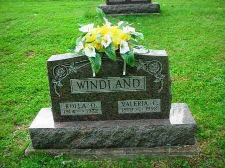 WINDLAND, ROLLA D. - Athens County, Ohio | ROLLA D. WINDLAND - Ohio Gravestone Photos