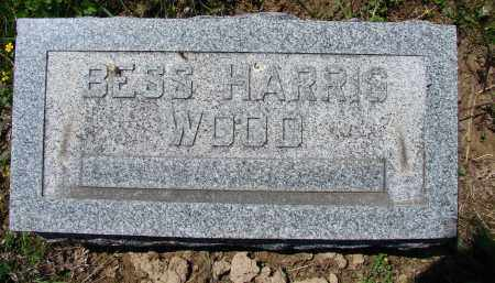 HARRIS WOOD, BESS - Athens County, Ohio | BESS HARRIS WOOD - Ohio Gravestone Photos