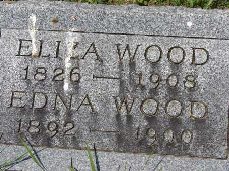 WOOD, EDNA - Athens County, Ohio | EDNA WOOD - Ohio Gravestone Photos