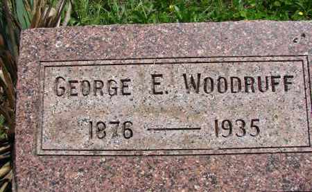 WOODRUFF, GEORGE E. - Athens County, Ohio | GEORGE E. WOODRUFF - Ohio Gravestone Photos