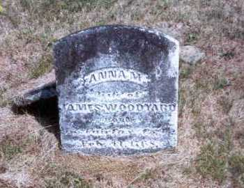 ROOT WOODYARD, ANNA M. - Athens County, Ohio | ANNA M. ROOT WOODYARD - Ohio Gravestone Photos