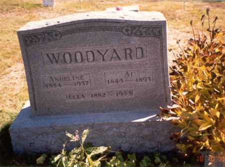 ELLIS WOODYARD, ANGELINE - Athens County, Ohio | ANGELINE ELLIS WOODYARD - Ohio Gravestone Photos