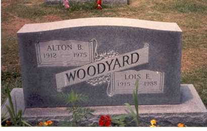 WOODYARD, ALTON B. - Athens County, Ohio | ALTON B. WOODYARD - Ohio Gravestone Photos