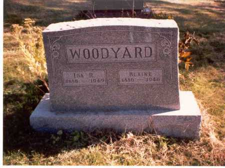 WOODYARD, BLAINE - Athens County, Ohio | BLAINE WOODYARD - Ohio Gravestone Photos