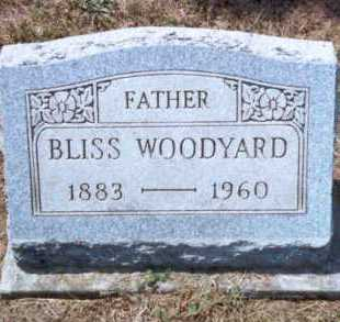WOODYARD, BLISS - Athens County, Ohio | BLISS WOODYARD - Ohio Gravestone Photos