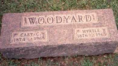 WOODYARD, CARY C. - Athens County, Ohio | CARY C. WOODYARD - Ohio Gravestone Photos