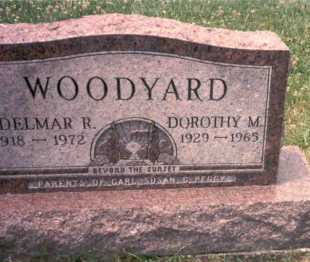 MARKINS WOODYARD, DOROTHY M. - Athens County, Ohio | DOROTHY M. MARKINS WOODYARD - Ohio Gravestone Photos