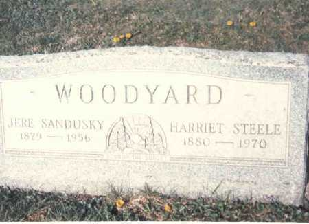 STEELE WOODYARD, HARRIET - Athens County, Ohio | HARRIET STEELE WOODYARD - Ohio Gravestone Photos
