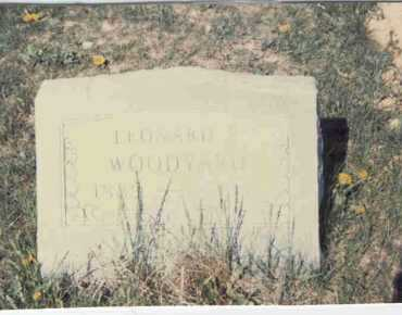 WOODYARD, LEONARD P. - Athens County, Ohio | LEONARD P. WOODYARD - Ohio Gravestone Photos