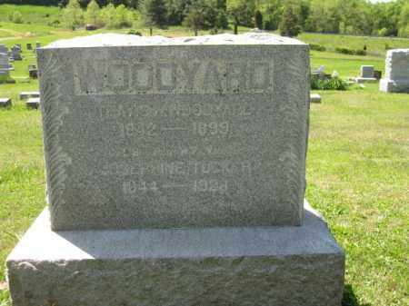 TUCKER WOODYARD, JOSEPHINE - Athens County, Ohio | JOSEPHINE TUCKER WOODYARD - Ohio Gravestone Photos