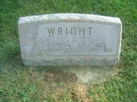 WRIGHT, ROY - Athens County, Ohio | ROY WRIGHT - Ohio Gravestone Photos