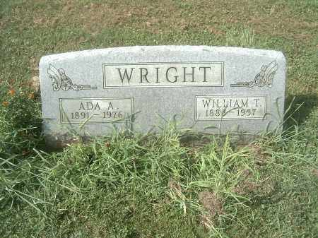 WRIGHT, ADA - Athens County, Ohio | ADA WRIGHT - Ohio Gravestone Photos