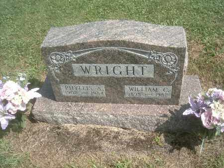 WRIGHT, WILLIAM C. - Athens County, Ohio | WILLIAM C. WRIGHT - Ohio Gravestone Photos