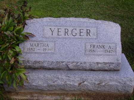 YERGER, FRANK A. - Athens County, Ohio | FRANK A. YERGER - Ohio Gravestone Photos