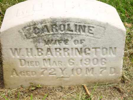 BARRINGTON, CAROLINE - Auglaize County, Ohio | CAROLINE BARRINGTON - Ohio Gravestone Photos
