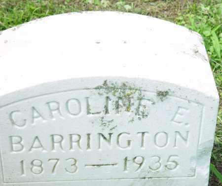 BARRINGTON, CAROLINE E. - Auglaize County, Ohio | CAROLINE E. BARRINGTON - Ohio Gravestone Photos