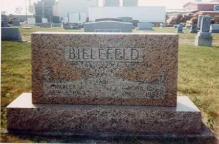 SCHNELLE BIELEFELD, ROSA CAROLINE - Auglaize County, Ohio | ROSA CAROLINE SCHNELLE BIELEFELD - Ohio Gravestone Photos