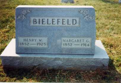 GEYER BIELEFELD, MARGARET - Auglaize County, Ohio | MARGARET GEYER BIELEFELD - Ohio Gravestone Photos