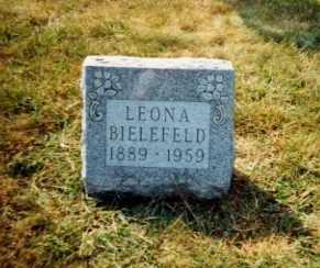 BIELEFELD, LEONA - Auglaize County, Ohio | LEONA BIELEFELD - Ohio Gravestone Photos