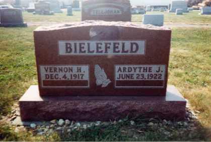 BIELEFELD, VERNON H. - Auglaize County, Ohio | VERNON H. BIELEFELD - Ohio Gravestone Photos