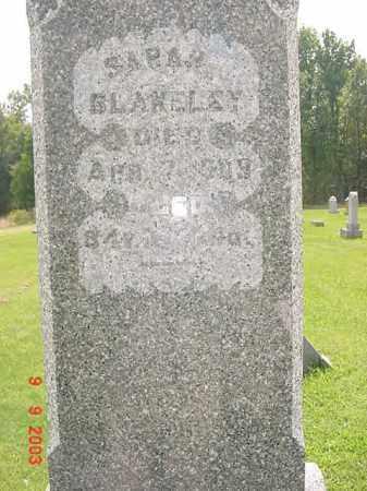 BLAKELEY, SARAH - Auglaize County, Ohio | SARAH BLAKELEY - Ohio Gravestone Photos
