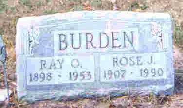 BURDEN, RAY C. - Auglaize County, Ohio | RAY C. BURDEN - Ohio Gravestone Photos