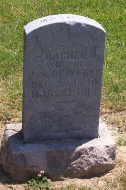 DEWEESE, RACHEL - Auglaize County, Ohio | RACHEL DEWEESE - Ohio Gravestone Photos