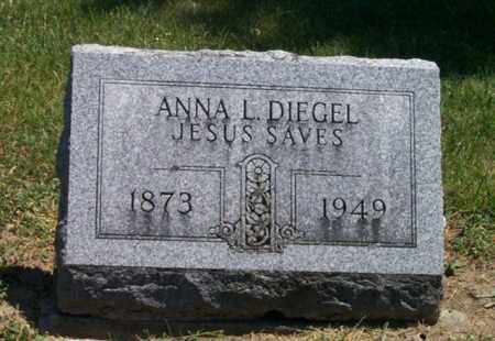 DIEGEL, ANNA L - Auglaize County, Ohio | ANNA L DIEGEL - Ohio Gravestone Photos
