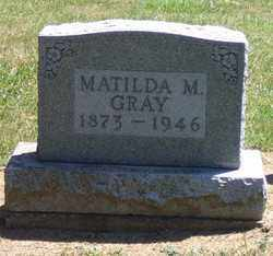 GRAY, MATILDA M. - Auglaize County, Ohio | MATILDA M. GRAY - Ohio Gravestone Photos